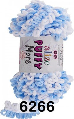 Пряжа Alize Puffy More 6266