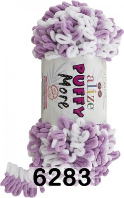Пряжа Alize Puffy More 6283
