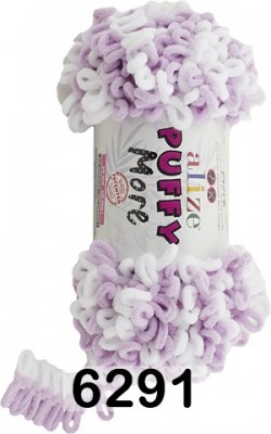 Пряжа Alize Puffy More 6291