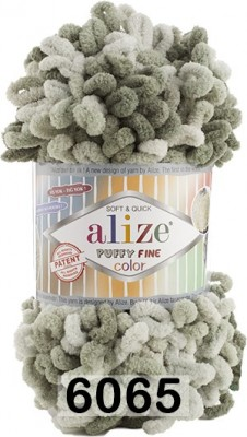 Пряжа Alize Puffy Fine Color 6065